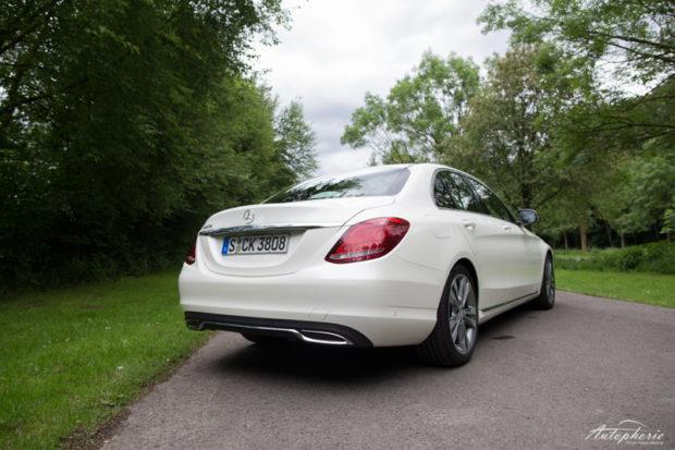 Mercedes-Benz C 220d Limousine Avantgarde Heck