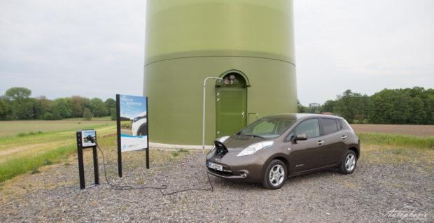 Nissan Leaf Aufladen