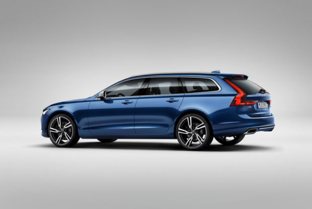 Volvo V90 R-Design Heckansicht