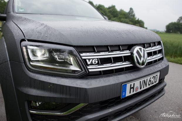 VW Amarok V6 TDI emblem