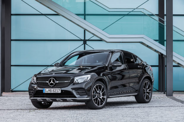 Mercedes-AMG GLC 43 4MATIC Coupé Grill