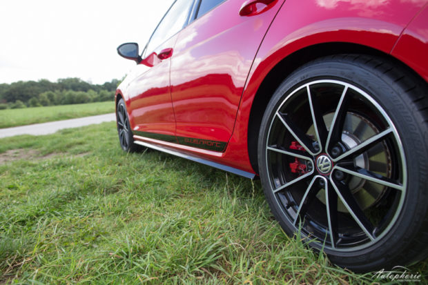 VW Golf GTI Clubsport Schweller