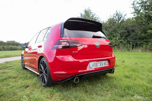 VW Golf GTI Clubsport Heck