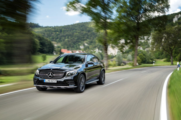 Mercedes-AMG GLC 43 4MATIC Coupé Fahrend