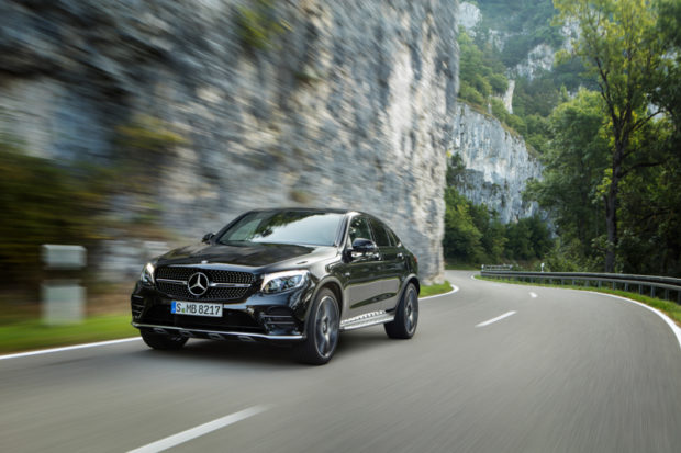 Mercedes-AMG GLC 43 4MATIC Coupé Frontal