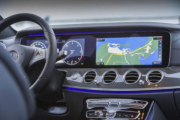 Mercedes-Benz E 220d T-Modell Cockpit