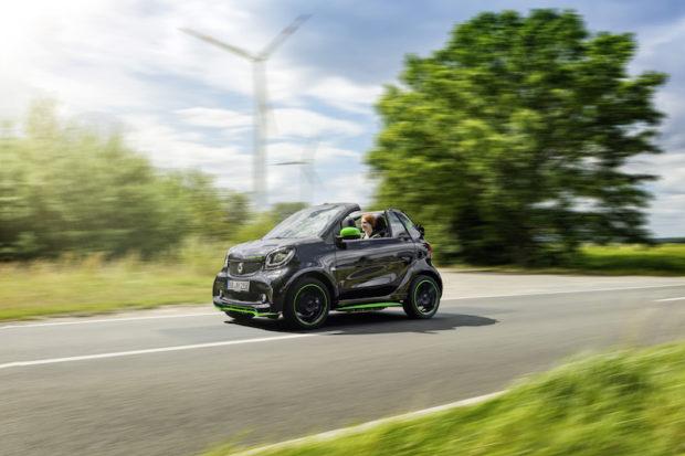 smart electric drive cabrio