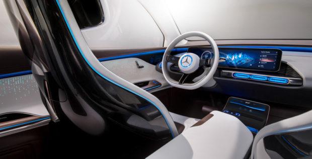 Mercedes Generation EQ Innenraum
