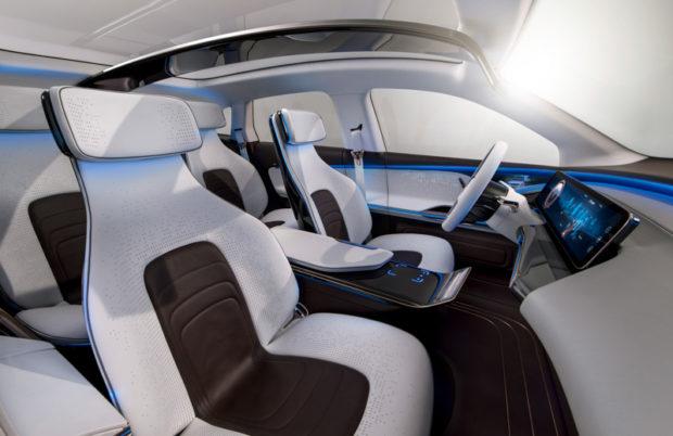 Mercedes Generation EQ Einzelsitze