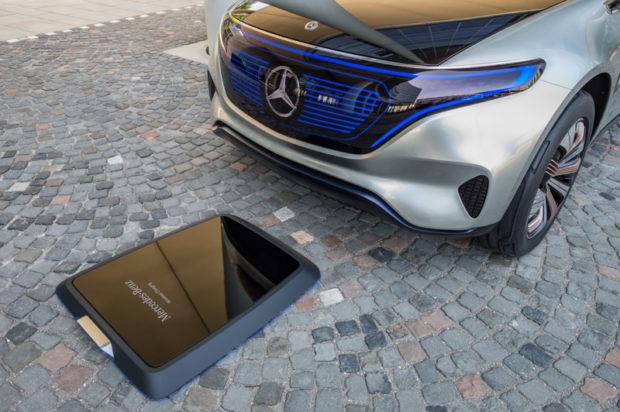Mercedes Generation EQ Elektro SUV Aufladen