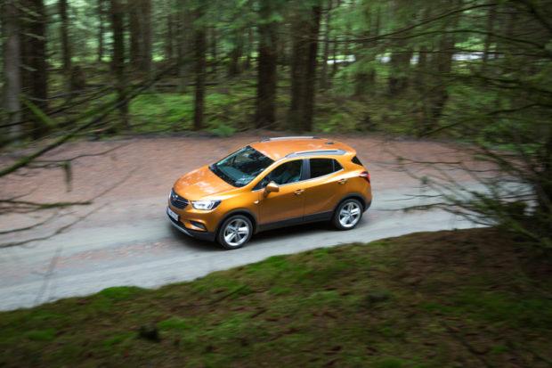 Opel Mokka X Safran Orange