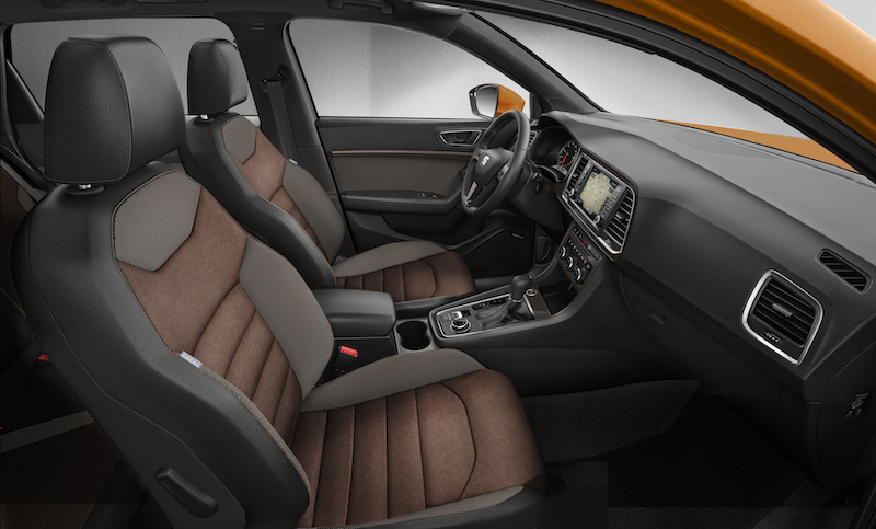 das dynamische mqb suv seat ateca 1 4 tsi test. Black Bedroom Furniture Sets. Home Design Ideas
