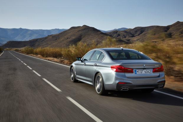 Neuer BMW 5er G30 Limousine Heck