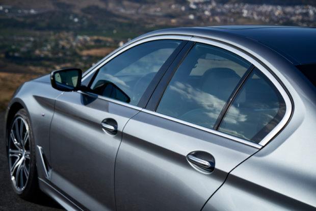 Neuer BMW 5er Limousine G30 Fensterlinie
