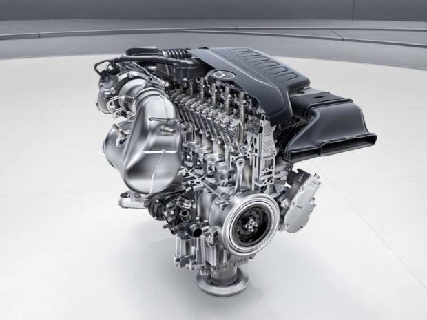 Neue Mercedes-Benz Motoren M 265 Reihensechszylinder