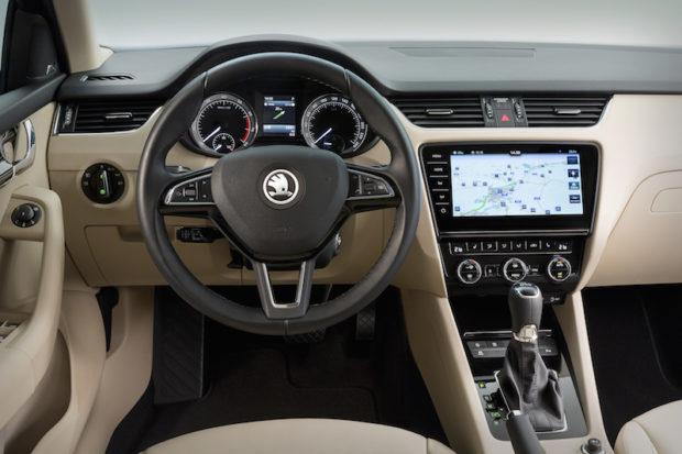 Skoda Octavia Facelift Innenraum