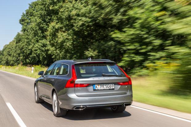 Volvo V90 Test Heck