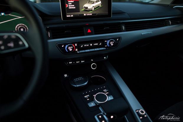 Audi A4 Avant B9 Mittelkonsole beleuchtet