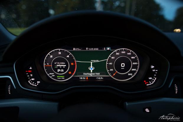 Audi A4 Avant virtual cockpit