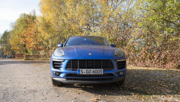 Porsche Macan Front Basismodell