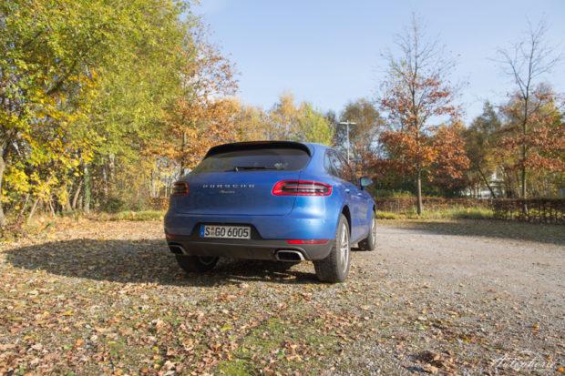 Porsche Macan Heck Basismodell