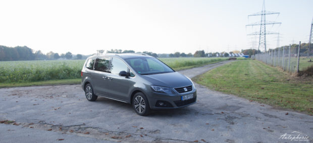 Seat Alhambra 20th Anniversary grau Front
