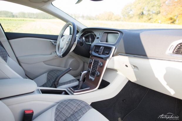 Volvo V40 D3 Facelift Cockpit