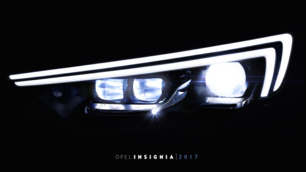 Opel IntelliLux LED Matrix Licht zweite Generation
