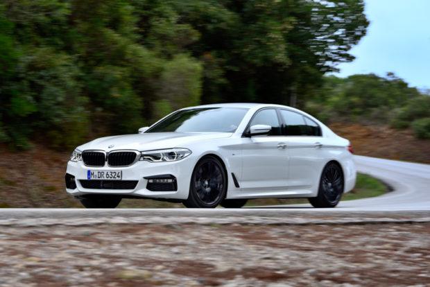 BMW 5er G30 540i Front