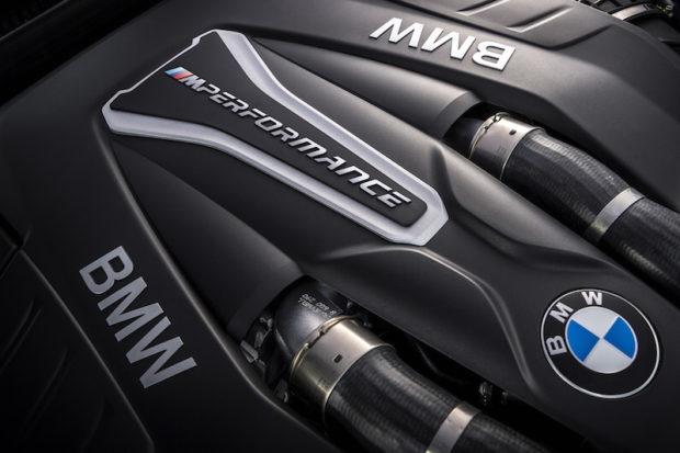 BMW M550i xDrive Motor