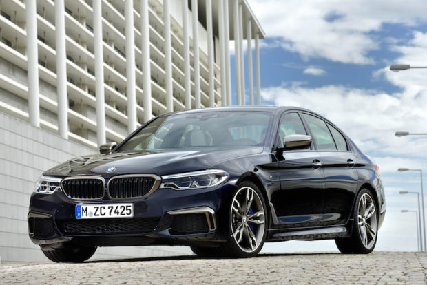 BMW M550i xDrive Front