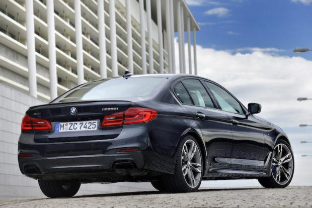 BMW M550i xDrive Heck