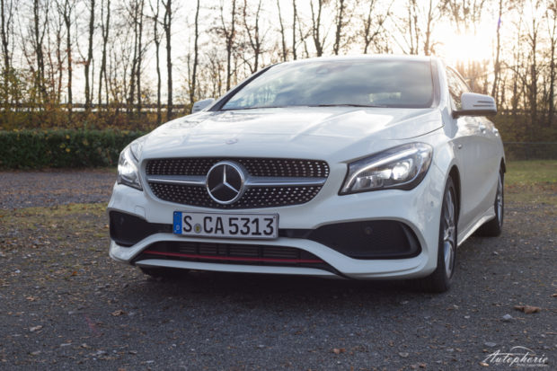 Mercedes-Benz CLA 250 Sport Shooting Brake Front