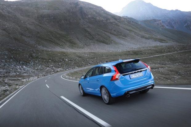 Volvo V60 Polestar Fahrend