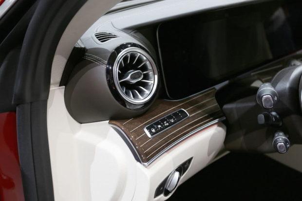 Mercedes-Benz E-Klasse Coupé Luftausstroemer