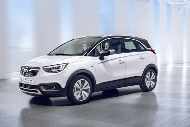 Neuer Opel Crossland X Front