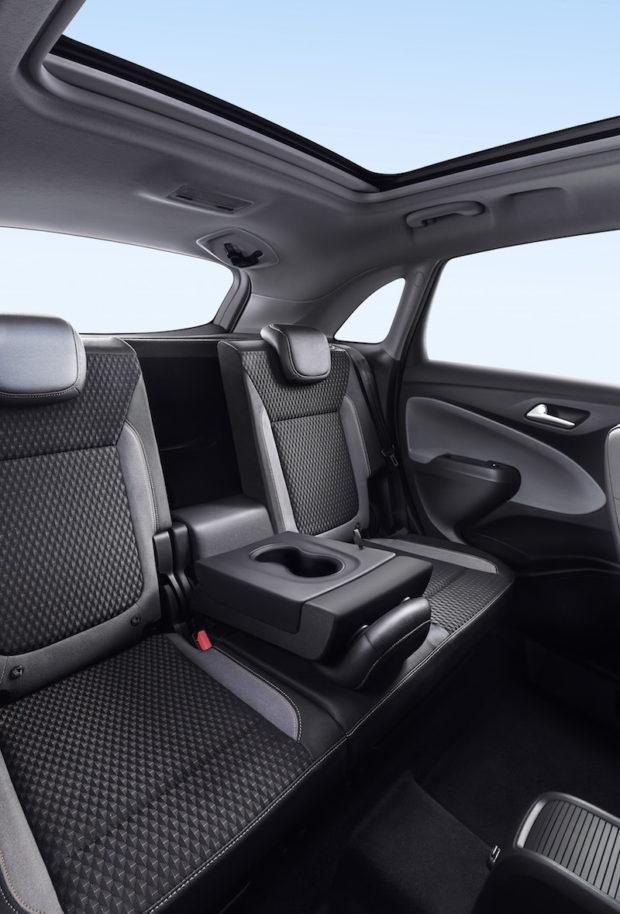 Neuer Opel Crossland X Rücksitze