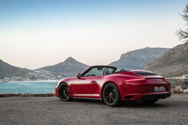 911 GTS Cabriolet Heck