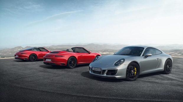Porsche 911 GTS Familie