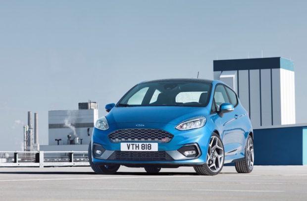 Neuer Ford Fiesta ST Front