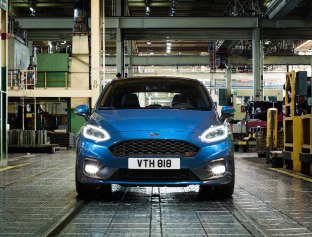 2017 Ford Fiesta ST Lichter