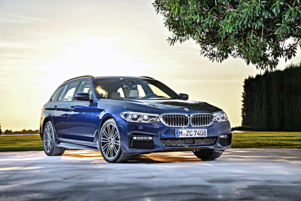 BMW 5er Touring G31 Frontansicht