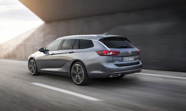 Neuer Opel Insignia Sports Tourer Heck