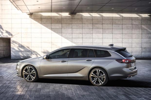 Seitenansicht Neuer Opel Insignia Sports Tourer