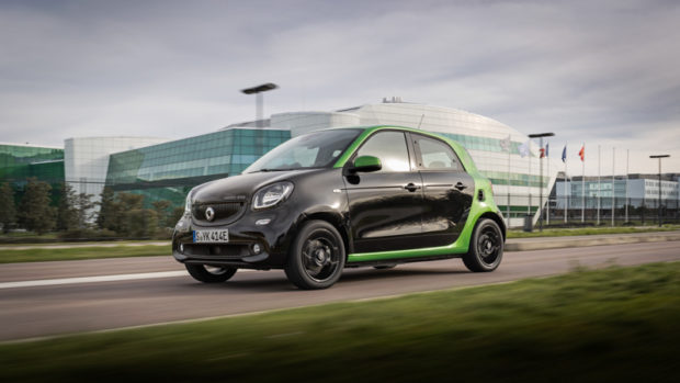 smart forfour electric drive Front