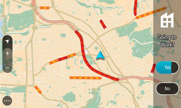 TomTom GO 6200 Verkehr