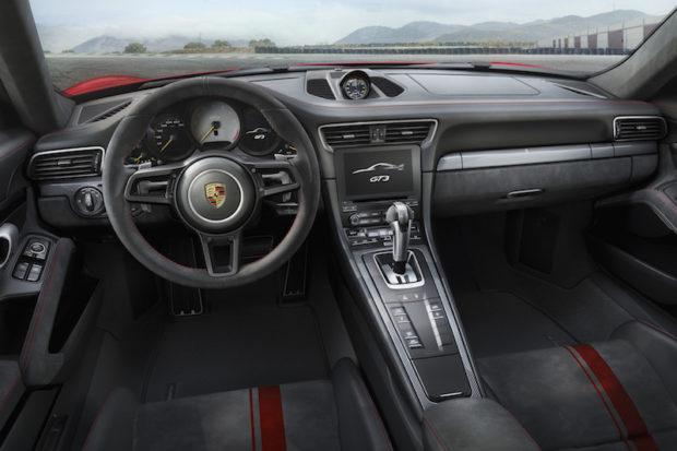 2017 Porsche 911 GT3 Cockpit