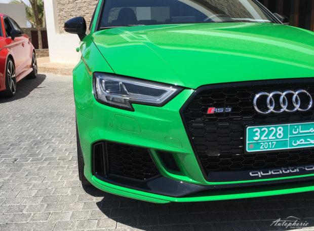 Audi RS3 Vipergreen Grill