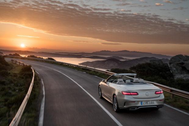 Das neue Mercedes-Benz E-Klasse Cabriolet Heckpartie