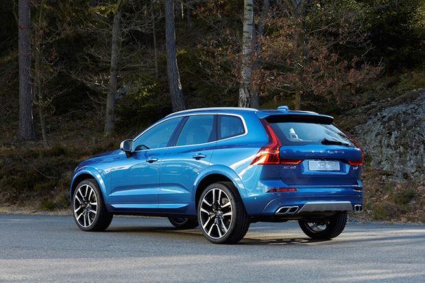 Neuer Volvo XC60 blau